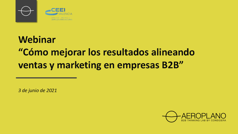 Cómo mejorar los resultados alineando ventas y marketing en empresas B2B