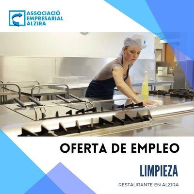 Limpiador/a Restaurante Alzira