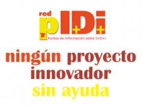 Ningún proyecto innovador sin ayuda