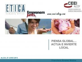 Piensa global, invierte local