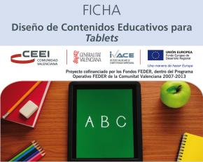 Diseño de Contenidos Educativos para Tablets