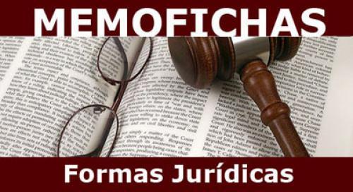 Formas jurídicas memofichas twitter