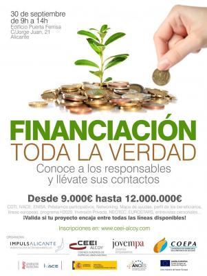 Financiación. Toda la verdad (segundo cartel)