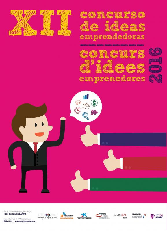 CEEI Alcoy colabora en el XII Concurso de Ideas Empresariales de Benidorm