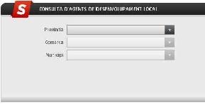 Buscador de Agencias de Desarrollo Local