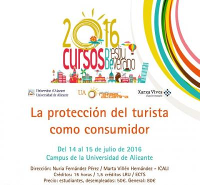 La protecci�n del turista como consumidor