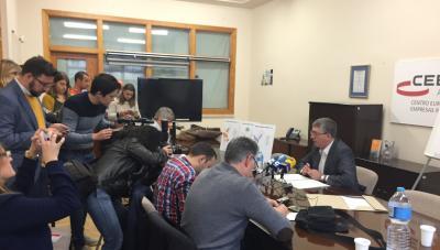 Numerosos medios han cubierto la rueda de prensa en CEEI Alcoi
