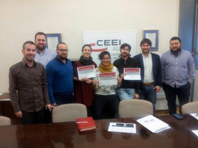 Entrega de premios Emprendeaventura