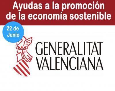 Ayudas a la promoción de la economía sostenible en la Comunitat Valenciana