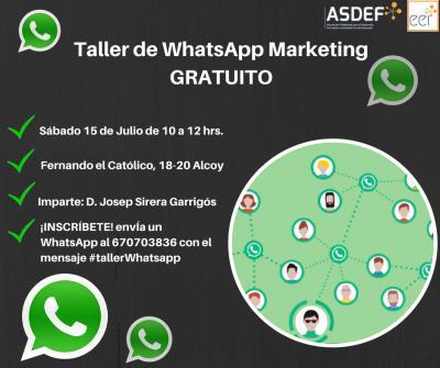 Taller Whatsapp Marketing GRATUITO