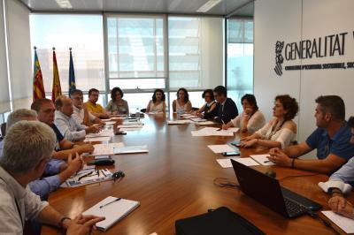 Encuentro entre el IVACE y los directores de los CEEI