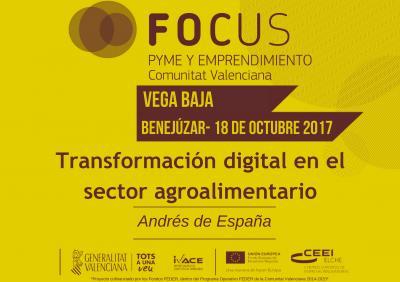 PORTADA PONENCIA Transformación digital en el sector agroalimentario