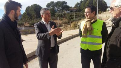 El Conseller de Economia, Rafa Climent visita Cocentaina