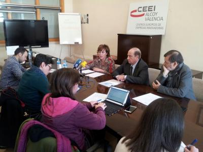 Rueda de prensa de resultados 2017 CEEI Alcoy-Valencia