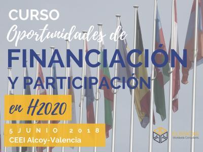 Programa del Curso Oportunidades de financiación y Participación en H2020