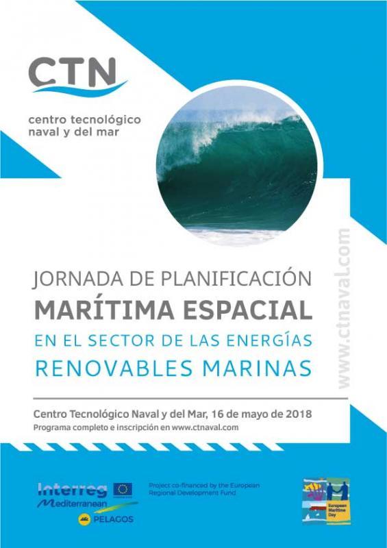 Jornada planificación marítima para energías renovables marinas