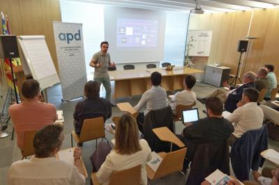 Echaleku en taller APD (08.06.2018)