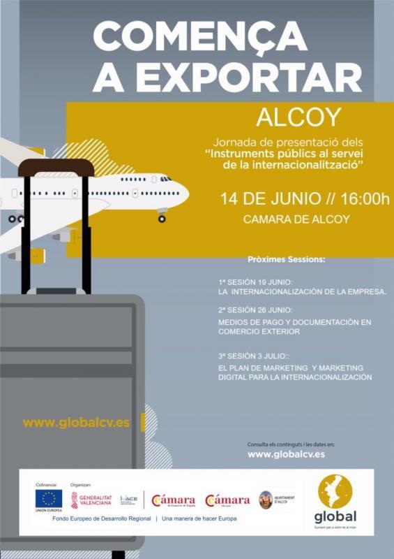 Comença a Exportar Alcoy