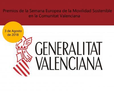 Premios de la Semana Europea de la Movilidad Sostenible en la Comunitat Valenciana