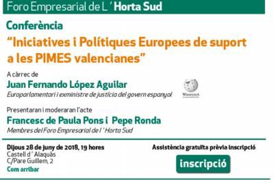 Iniciativas políticas Europeas de apoyo a las PYMES valencianas en ALAQUÀS