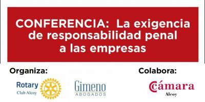 Conferencia Responsabilidad Penal Empresas