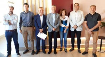 Reunión Plataforma, Conseller Economía e Ivace
