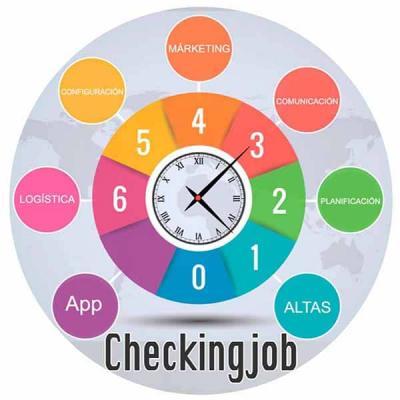 Logo Reloj Checkingjob