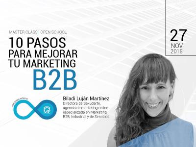 Master Class: 10 pasos para mejorar tu Marketing B2B