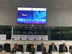 Alcoy participa en la reunión Cumbre de Alcaldes en Bruselas