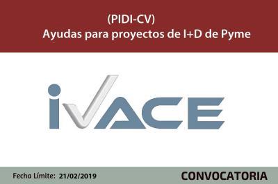 Ayudas PIDI-CV