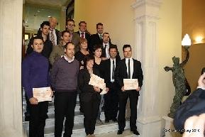 Premiados Segunda Edición premios Emprendedores Alcoy