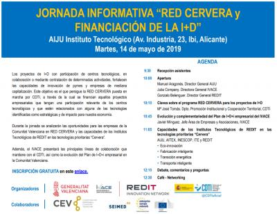 Jornada informativa: RED CERVERA