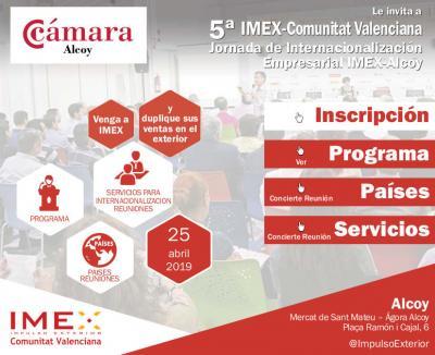 Jornada internacionalización Imex-Alcoy