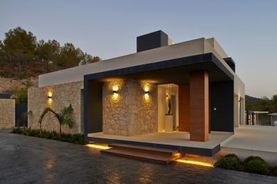 Una de las casas diseñadas por Ébano