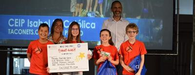 Taconets.com gana la 3ª edición de IdeaT- Kids upv