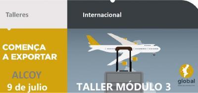 Taller Comença a Exportar Módulo 3