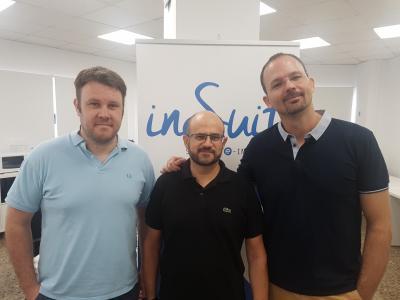 Salvador Romero, Juan Antonio Cebollada y Sebastián Rodríguez