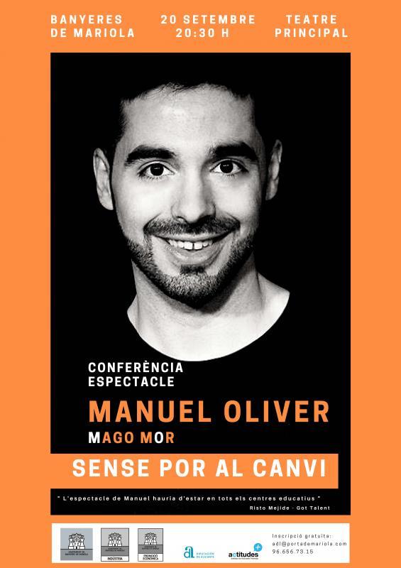 Conferencia de Manuel Oliver (Mago Mor)