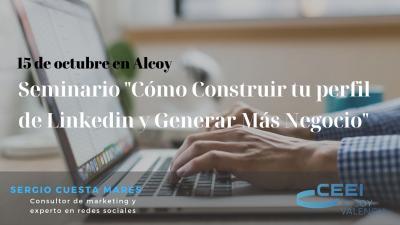 Seminario Linkedin con Sergio Cuesta