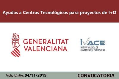 Ayudas Centros Tecnológicos  en I+D Economía Circular