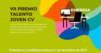 Convocatoria Premios Talento Joven CV