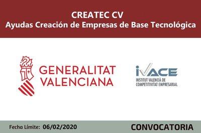 Createc ayudas IVACE  2020