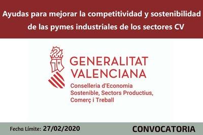 Ayudas a la competitividad y la sostenibilidad de la pymes