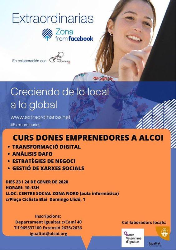 Curso Dones Emprendedores en Alcoi