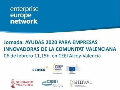 Jornada Ayudas 2020 para Empresas Innovadoras CV