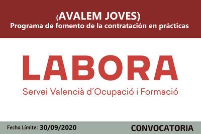 Programa de fomento de la contratación en prácticas (AVALEM JOVES)