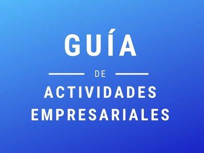 Guía de actividades empresariales