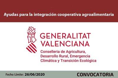 para la integración cooperativa agroalimentaria CV