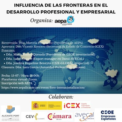 Foro internacionalización AEPA