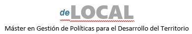 Màster Universitari en Gestió i Promoció del Desenvolupament Local